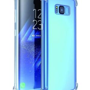 כיסוי לסמסונג גלקסי SAMSUNG GALAXY S8 שקוף עם במפרים – SHOCK PROOF