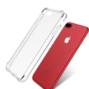 כיסוי לאייפון 6 פלוס שקוף עם במפרים – SHOCK PROOF