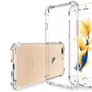 כיסוי לאייפון 7 פלוס IPHONE שקוף עם במפרים – SHOCK PROOF