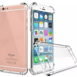 כיסוי לאייפון 8 פלוס IPHONE 8 PLUS שקוף עם במפרים – SHOCK PROOF