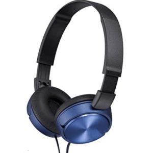 אוזניות חוט איכותיות SUPER BASS צבע כחול