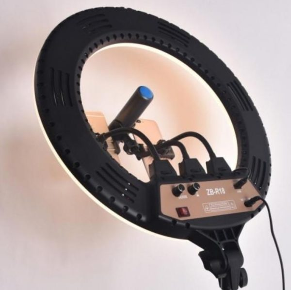 תאורת רינג מקצועית ועוצמתית