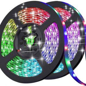 רצועת לדים צבעוני RGB