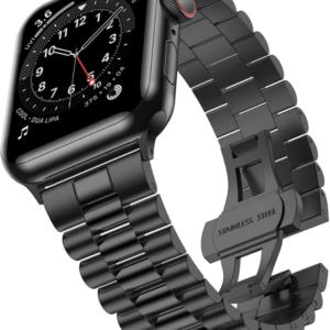 רצועה לשעון אפל צבע שחור